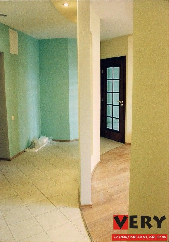 Реализован дизайн-проект квартиры. Октябрь 2002