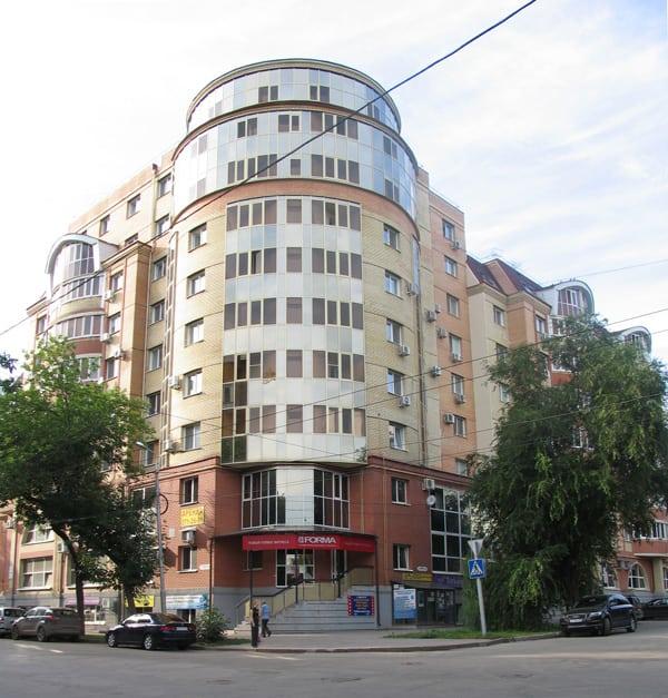 Жилой дом Ленинградская - Ленинская