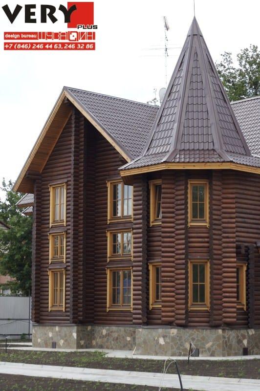 Проект дома 400 кв.м. Сдача – 2008 г