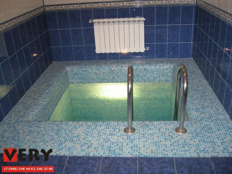 Частный бассейн. Сдача – осень 2010г.