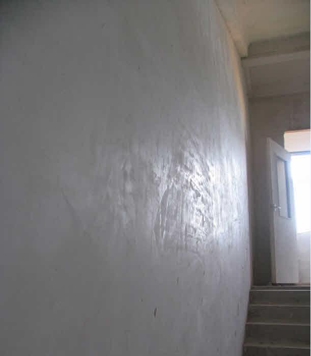 Механизированная штукатурка стен  мест общего пользования (МОП)