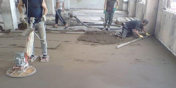 Железнение бетонного пола своими руками 897