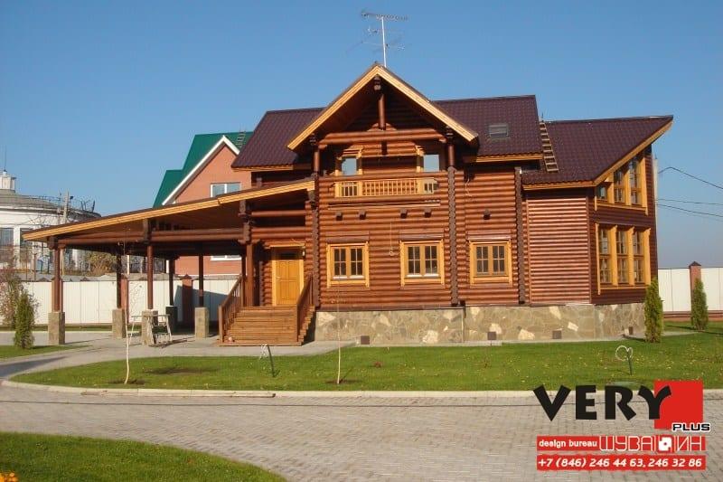 Проект дома 320 кв.м. Сдача - 2008 г.