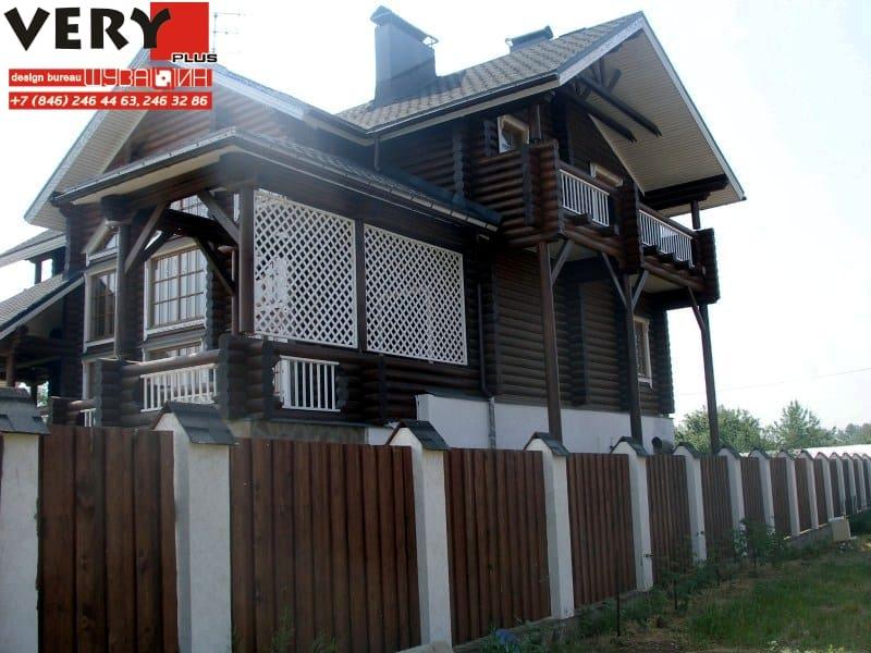Проект дома 530 кв.м. Сдача - 2009 г.