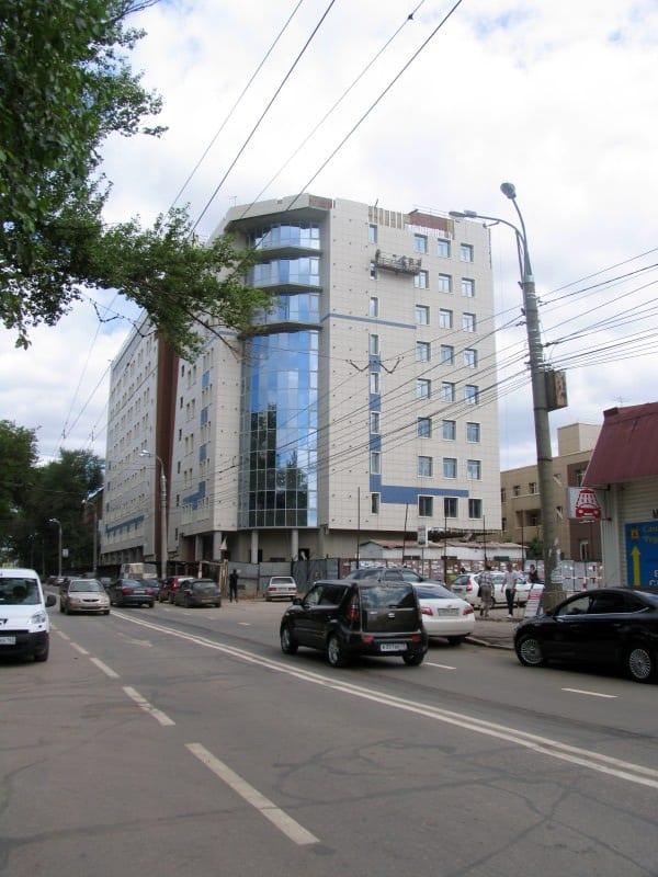Офисный центр по ул Мичурина, Полусухая стяжка