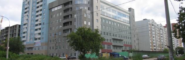 Офисный центр по ул Дачная, Полусухая стяжка