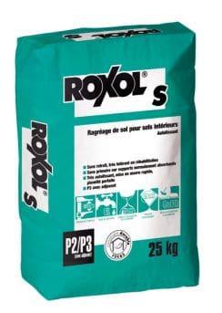 Самовыравнивающая смесь roxol s