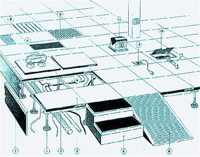 Фальшполы Weiss Doppelbodensysteme GmbH