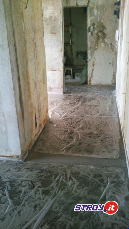 Полусухая стяжка с.Подбельск, Похвистневского района Самарской области