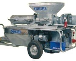 устройство наливного пола CURA 201