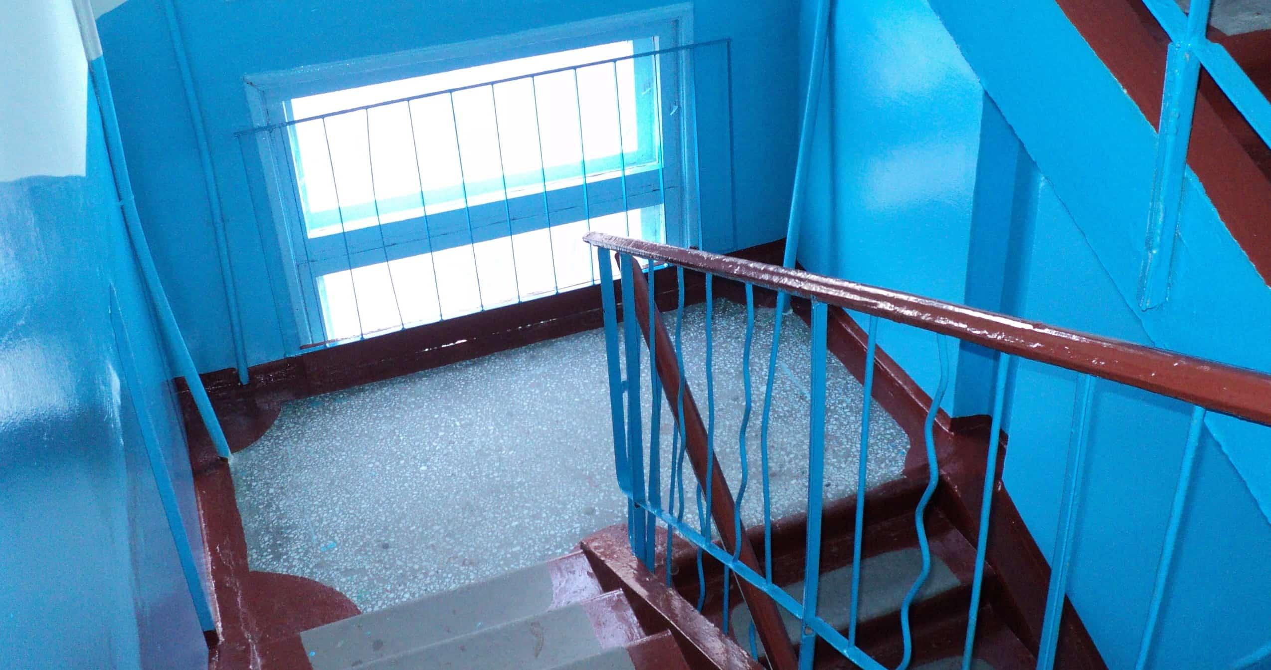 Реновация подъездов, лестничных клеток и коридоров