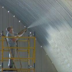 утепление ппу ангара склада