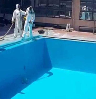 Гидроизоляция бассейнов полимочевиной