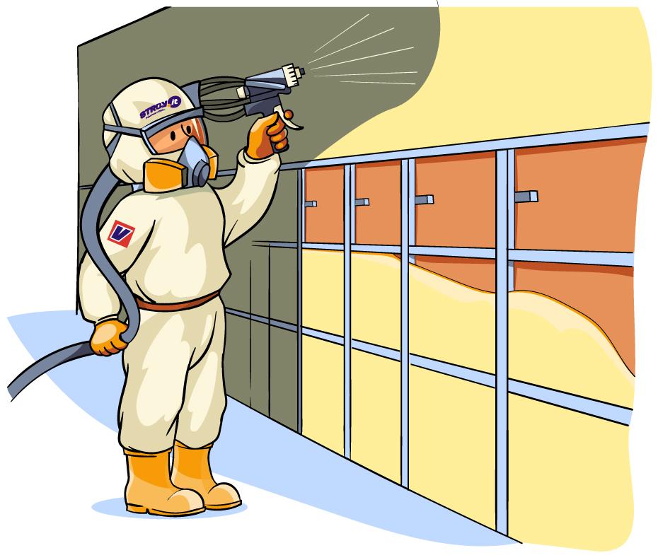 утепление фасадов пенополиуретановой пеной под сайдинг или под окраску