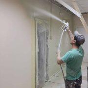 безвоздушная покраска стен офиса ВЕРИ Самара-31