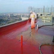 гидроизоляция и ремонт кровли полимочевиной