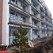 Санаторий Самарский ВЕРИ Полусухая стяжка на балконах