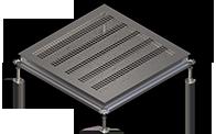 Вентиляционные панели из стали или алюминия